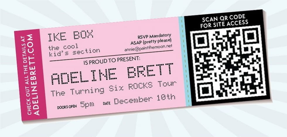 How to create a custom QR Code for your Tickets