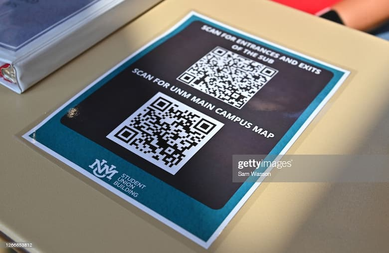 QR Codes for school guide